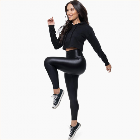 Colanti luciosi Belly Bandit Ciré Smoothing Leggings0