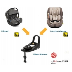 Pachet scaun auto Joie i-Anchor Advance + bază ISOfix i-size + scoica auto Joie i-Gemm0
