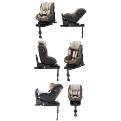 Pachet scaun auto Joie i-Anchor Advance + bază ISOfix i-size + scoica auto Joie i-Gemm3