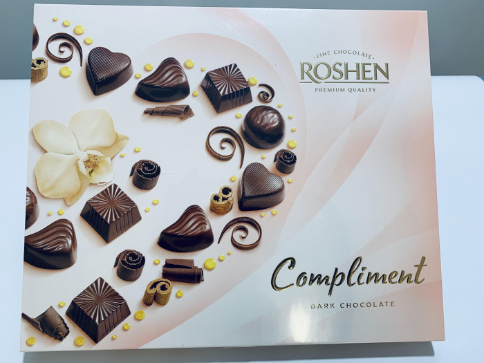Roshen Compliment Dark Chocolate 0
