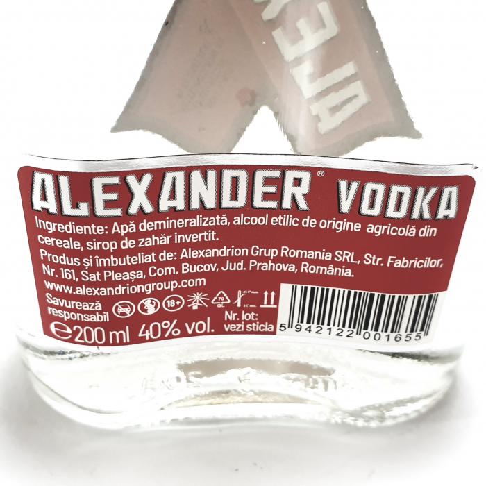 Alexander Vodka 1