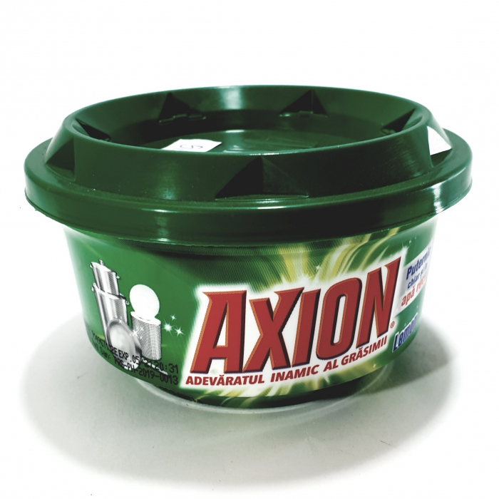 Detergent pastă pentru vase Axion 0