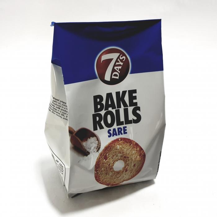 7 Days Bake Rolls cu sare 0
