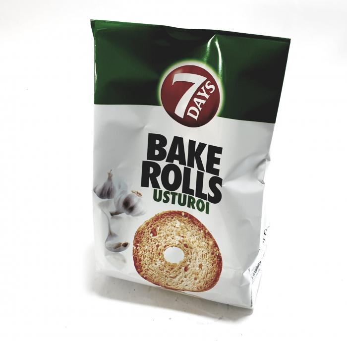 7 Days Bake Rolls cu usturoi 0