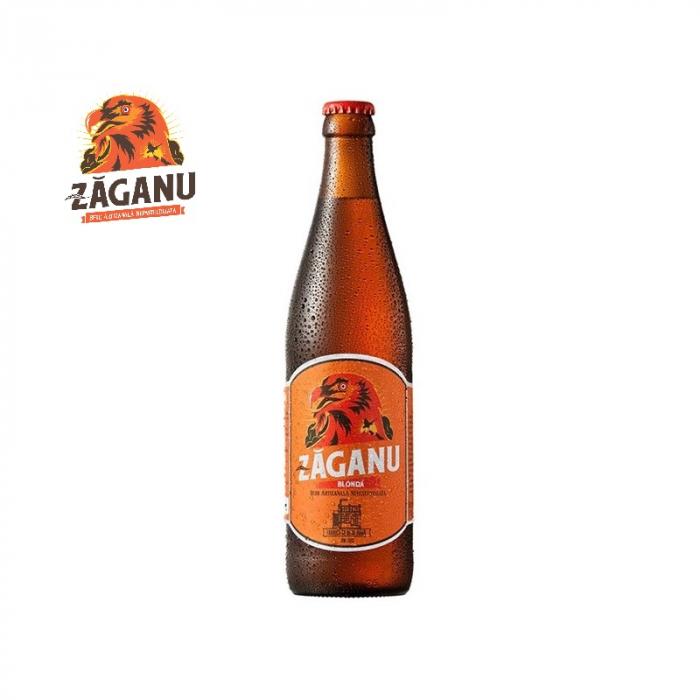 Bere Blonda - Zăganu 0.5 litri [0]