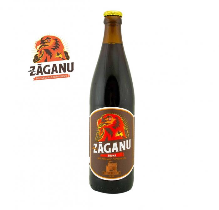 Bere Brună - Zăganu - 0.5 litri 0