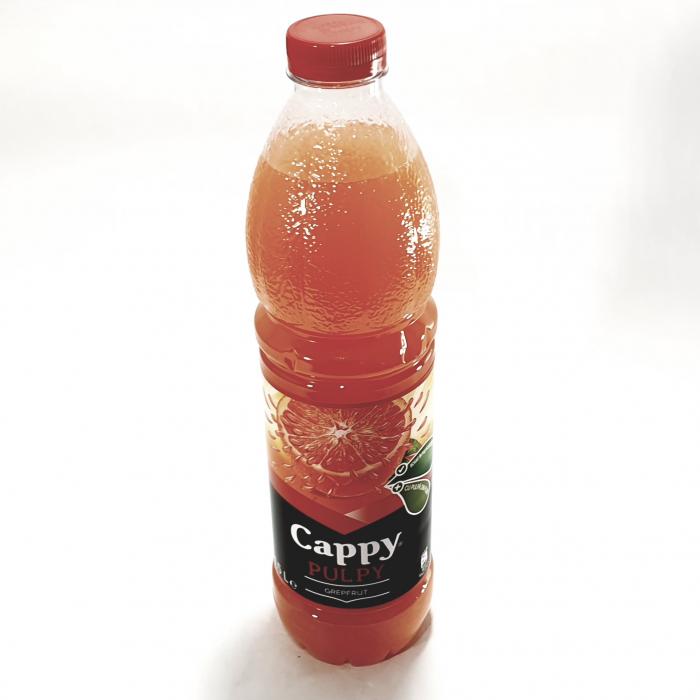 Băutură răcoritoare Cappy pulpy grapefruit 0