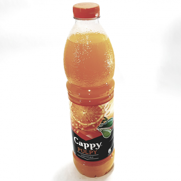 Băutură răcoritoare Cappy pulpy portocale 0