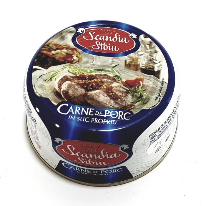 Scandia Sibiu - Carne de porc în suc propriu - [0]