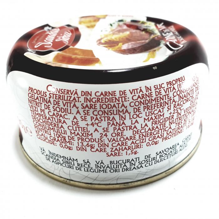Scandia Sibiu - Carne de vită în suc propriu - 1