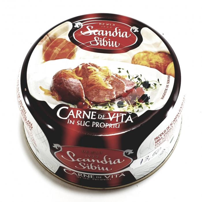 Scandia Sibiu - Carne de vită în suc propriu - 0