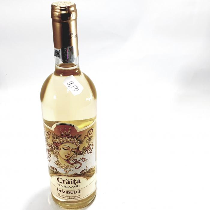 Vin alb demidulce - Crăița Transilvaniei - 0