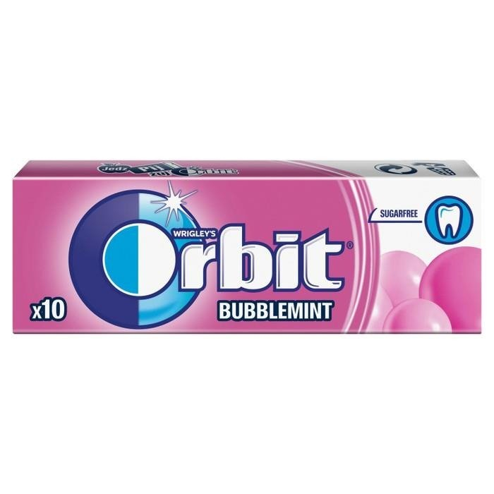 Orbit bubblemint 0