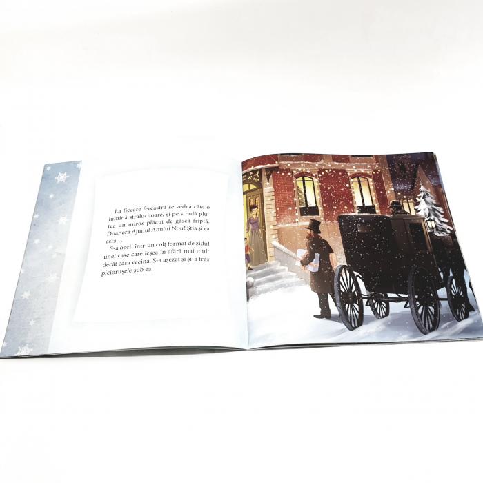 Fetița cu chibrituri de Hans Christian Andersen 1