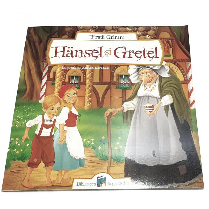 Hansel și Gretel de Frații Grimm 0