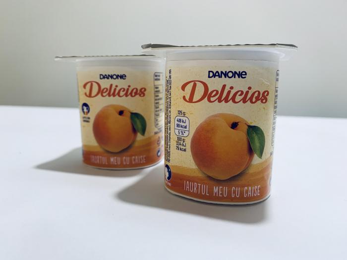 Iaurt Danone Delicios cu caise 0