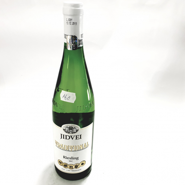 Vin Alb - Jidvei Tradițional Riesling - sec 0