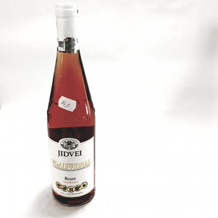 Vin  - Jidvei Tradițional Roze - demidulce 0