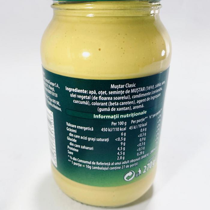 Knorr Muștar Clasic 1