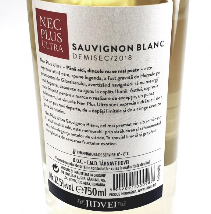 Jidvei - Nec Plus Ultra Sauvignon Blanc - demisec 1