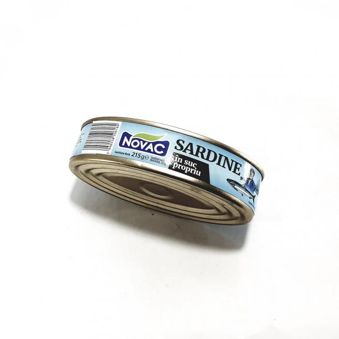 Sardine în suc propriu - Novac - [0]