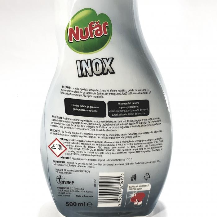 Detergent Nufăr Inox 1