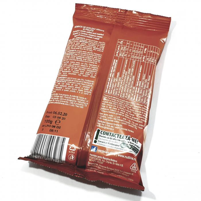 Nutline - Semințe de dovleac cu sare - [1]