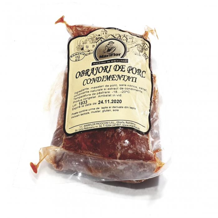 Mariflor - Obrăjori de porc condimentați - 0