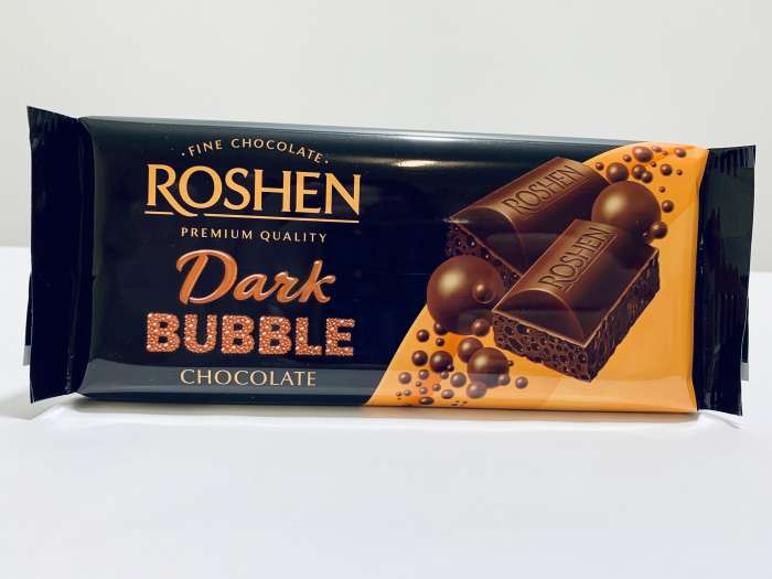 Roshen Dark Bubble Chocolate 0