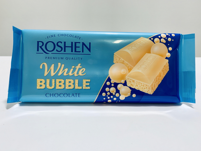 Roshen White Bubble Chocolate 0