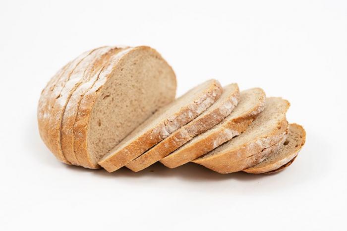 Rotundă Românească pâine cu secară și maia 1
