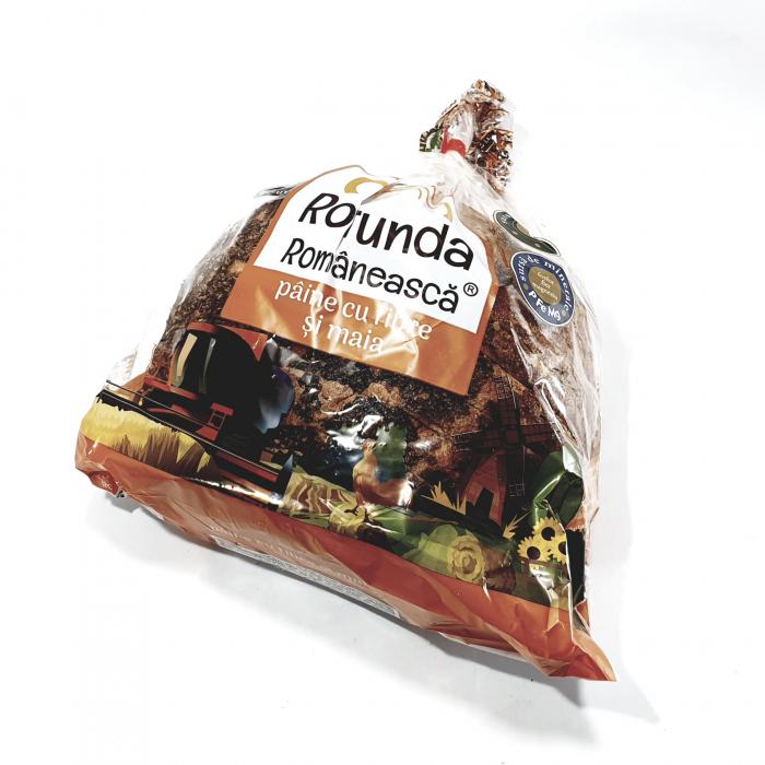 Rotundă Românească pâine cu fibre și maia [0]