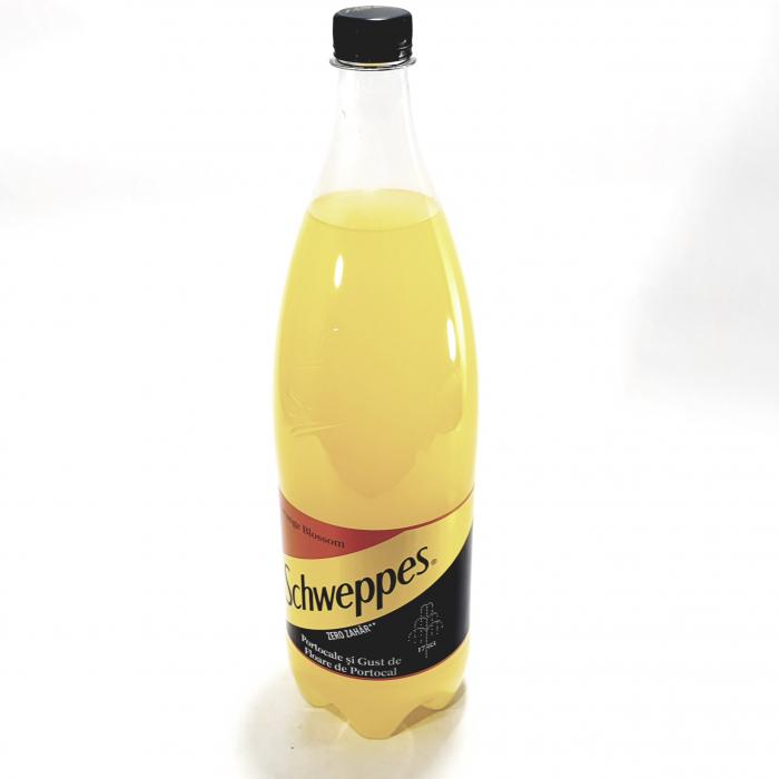 Suc Schweppes Orange Blossom Zero Zahăr 1.5l 0