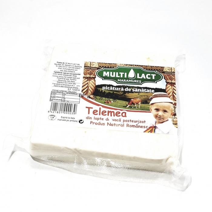 Multilact Telemea din lapte de vacă pasteurizat 0