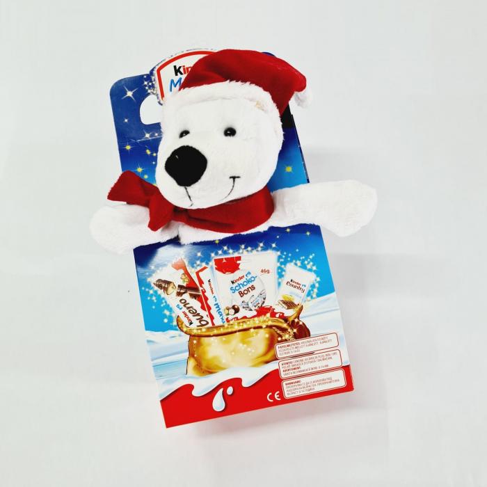 Kinder Maxi Mix cu jucarie Craciun -  Urs polar 0