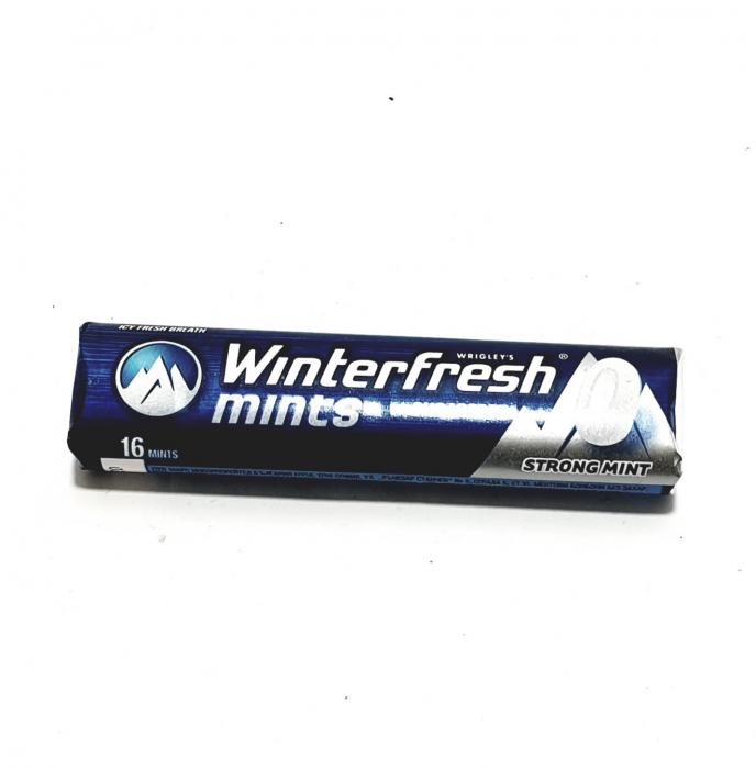 Bomboane mentolate Winterfresh Strong Mint 0