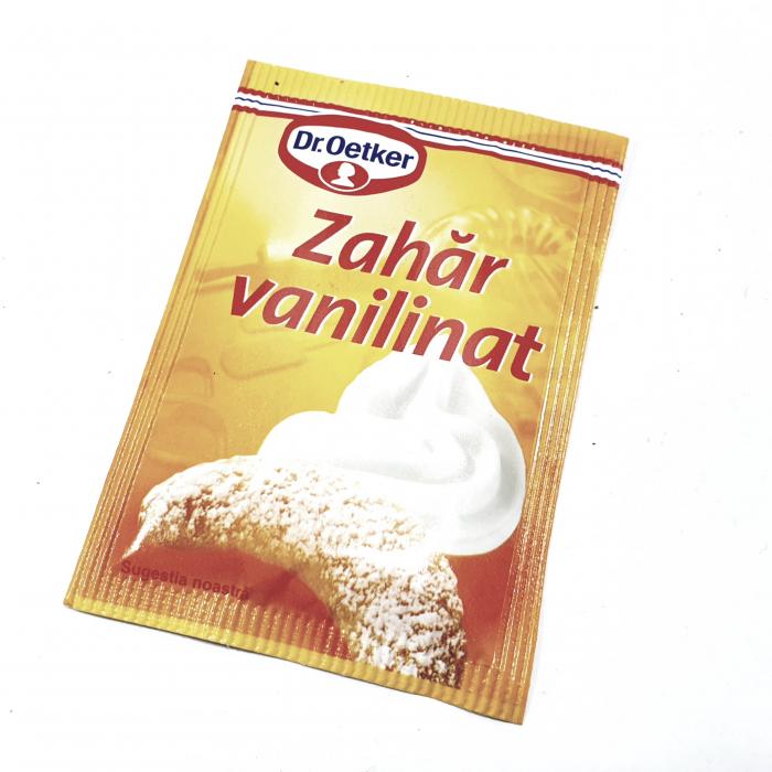 Dr. Oetker - Zahăr vanilinat - 0