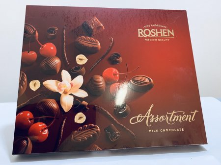 Roshen Assortment Milk Chocolate0