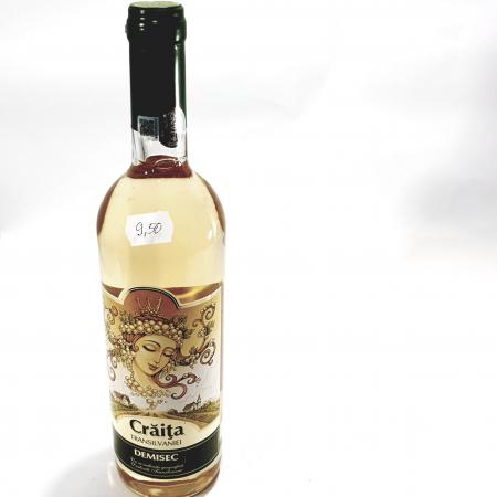 Vin alb demisec - Crăița Transilvaniei -0