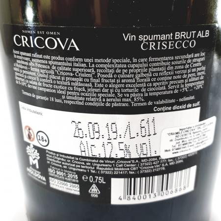 Cricova Crisecco1