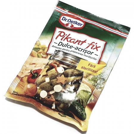 Dr. Oetker Pikant Fix - dulce acrișor - [0]