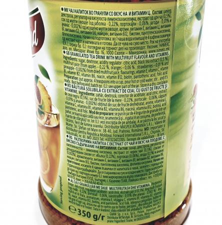 Ceai granulat instant Ekoland Multifruct1
