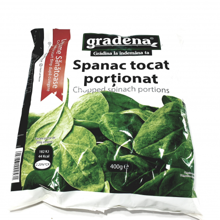 Gardena - Spanac tocat porționat -0