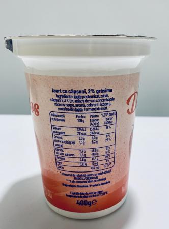 Iaurt Danone Delicios cu căpșuni [1]