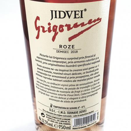 Vin Roze Demisec - Jidvei Tablou Grigorescu -  0.75l [1]