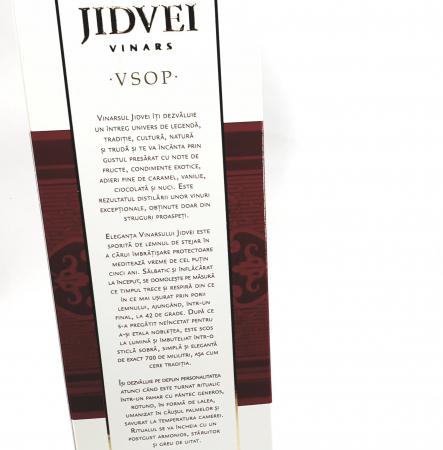 Jidvei - VINARS JIDVEI VSOP -1