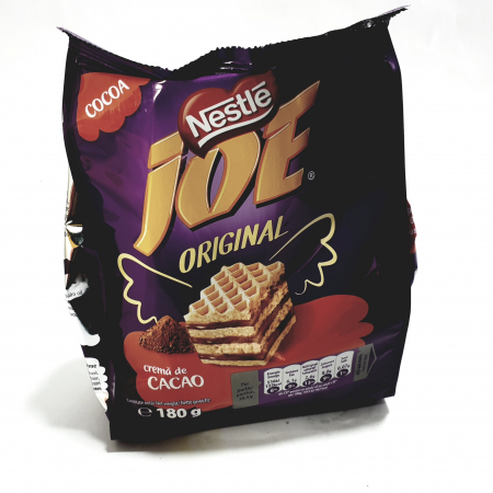 Napolitane Joe cu cremă de cacao0