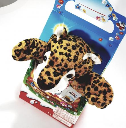 Kinder Maxi Mix cu jucărie de pluș (tigru)0