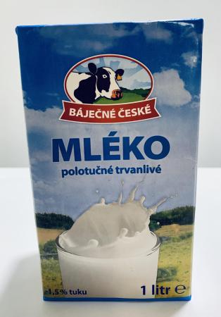 Lapte Mléko 1,5 % grăsime [0]