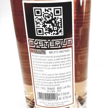 Vin Jidvei - Roze - Mysterium Bottle sec1